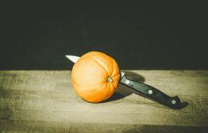 Mezcal trinken mit Orange