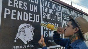 Ilegal Mezcal Donald Eres Un Pendejo Poster