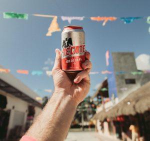 mexikanisches bier tecate keyvisual